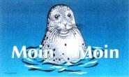 Fahne Moin Moin Seehund II 90 x 150 cm