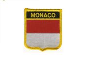 Wappenaufnäher Monaco