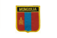 Wappenaufnäher Mongolei