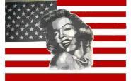 Fahne Marilyn Monroe 90 x 150 cm