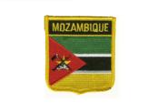 Wappenaufnäher Mosambik