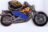 Aufnäher Motorrad Chopper