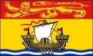 Fahne New Brunswick (Neu Braunschweig) 90 x 150 cm