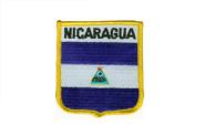 Wappenaufnäher Nicaragua