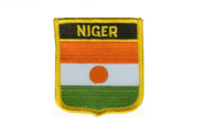 Wappenaufnäher Niger