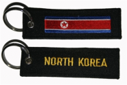 Schlüsselanhänger Nord Korea