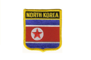 Wappenaufnäher Nord Korea