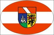 Aufkleber oval Oberkirch 10 x 6,5 cm