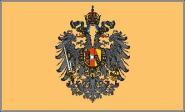 Fahne Österreich-Ungarn Adler bis 1915 90 x 150 cm