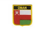 Wappenaufnäher Oman