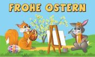 Fahne Frohe Ostern 9 90 x 150 cm
