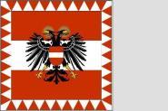 Militärstandarte Österreich 1934-38 150 x 150 cm