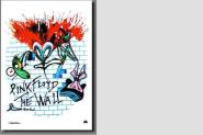 Posterflagge Pink Floyd The Wall I 105 x 75 cm