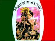 Fahne Proud of my Heritage 90 x 150 cm