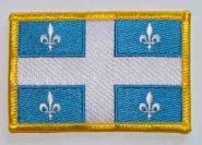Aufnäher Quebec