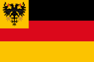 Flagge Reichsflotte 60x90 cm