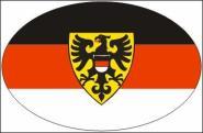 Aufkleber oval Reutlingen 10 x 6,5 cm