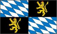 Fahne Rheinische Pfalzgrafschaft 90 x 150 cm
