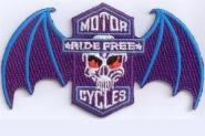 Aufnäher Ride Free Motiv 2
