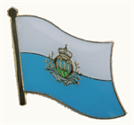 Pin San Marino 20 x 17 mm