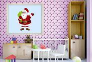 Fenstertattoo Santa Claus 1