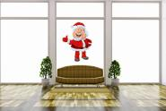 Fenstertattoo Santa Claus 3
