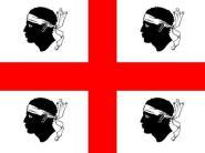 Miniflag Sardinien 10 x 15 cm