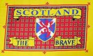 Fahne Schottland The Brave 90 x 150 cm