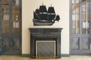 Wandtattoo Segelschiff Motiv Nr. 2