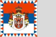 Fahne Serbien Präsidenten Standarte 150 x 150 cm