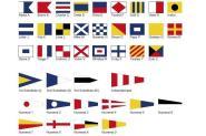 Signalflaggen Komplettsatz Größe 1