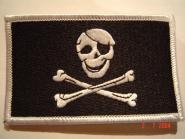 Aufnäher Pirat Skull + Bones