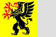 Flagge Soedermanland 120 x 120 cm