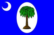 Flagge South Carolina 1861