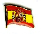 Pin Spanien 17 x 12 mm