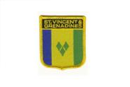Wappenaufnäher St. Vincent & die Grenadinen