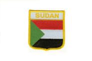 Wappenaufnäher Sudan