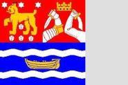 Flagge Südfinnland 120 x 120 cm