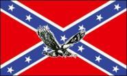 Fahne Südstaaten Adler 90 x 150 cm