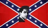 Fahne Südstaaten Elvis 90 x 150 cm