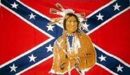 Fahne Südstaaten Indianer 90 x 150 cm