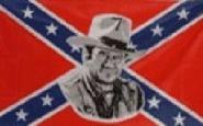 Fahne Südstaaten John Wayne 90 x 150 cm