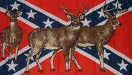 Fahne Südstaaten Rehe 90 x 150 cm
