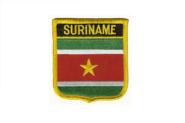 Wappenaufnäher Surinam