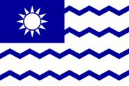 Flagge Taiwan Steuerbehörde