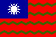 Flagge Taiwan Zol
