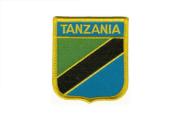 Wappenaufnäher Tansania