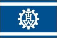 Flagge THW