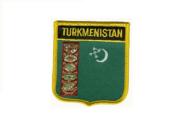 Wappenaufnäher Turkmenistan