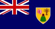 Fahne Turks- und Caicosinseln 30 x 45 cm